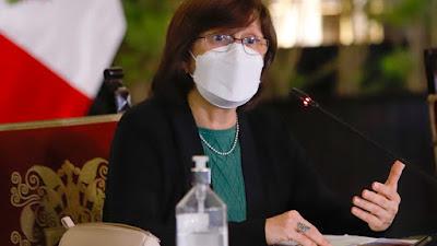 "La azitromicina, ivermectina e hidroxicloroquina, ""no tienen un efecto beneficioso"", afirma ministra de Salud"