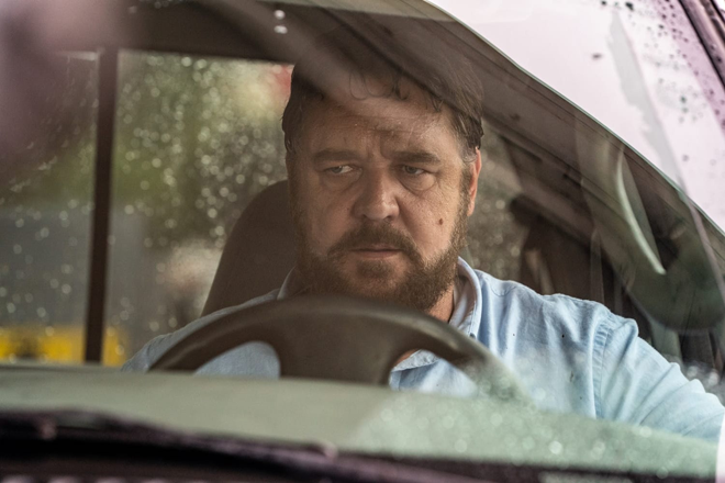 Russell Crowe al volante