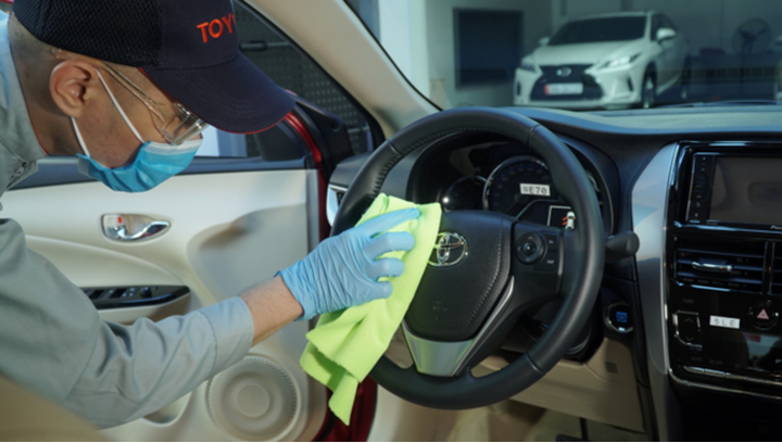 Toyota linh hoạt chính sách kinh doanh trong Covid-19