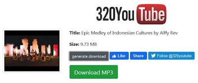 cara download mp3 di youtube