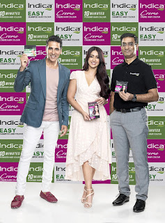 "Indica ""Innovative Hair color Brand"" from Cavin Kare ropes in Akshay Kumar & Ileana D'Cruz as it's Brand Ambassadors"
