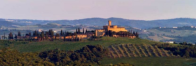 Banfi wine estate Tuscany