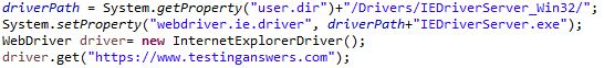Open Internet Explorer Browser