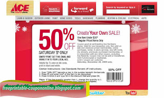Free Printable Ace Hardware Coupons
