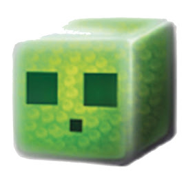 Minecraft Adventure Chest Slime Cube Other Figure