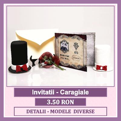 http://www.bebestudio11.com/2018/03/invitatii-nunta-caragiale.html