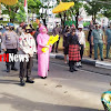 Irjen Pol Merdisyam Dan Nyonya, Disambut Dengan Nilai-Nilai Budaya Sulawesi Selatan