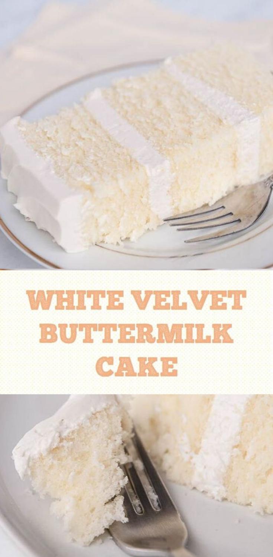 easy homemade white cake recipe