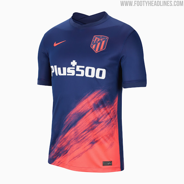 Atletico Madrid 21 22 Away Kit Revealed Footy Headlines