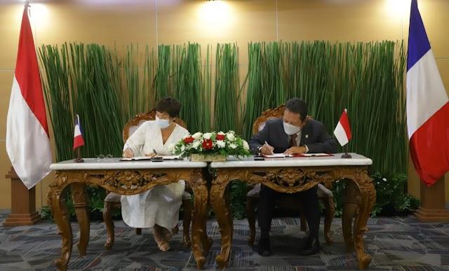 Indonesia-Prancis Perkuat Kerja Sama Sektor Kelautan dan Perikanan