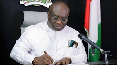 Governor Ikpeazu Dissolves Cabinet