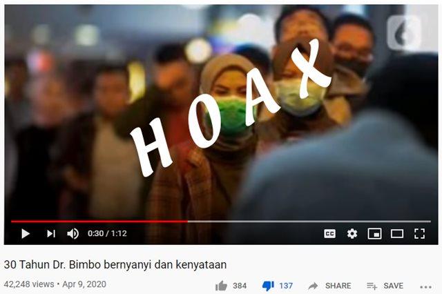 Lagu Corona Bimbo hoax - ytbSusilo Wibowo