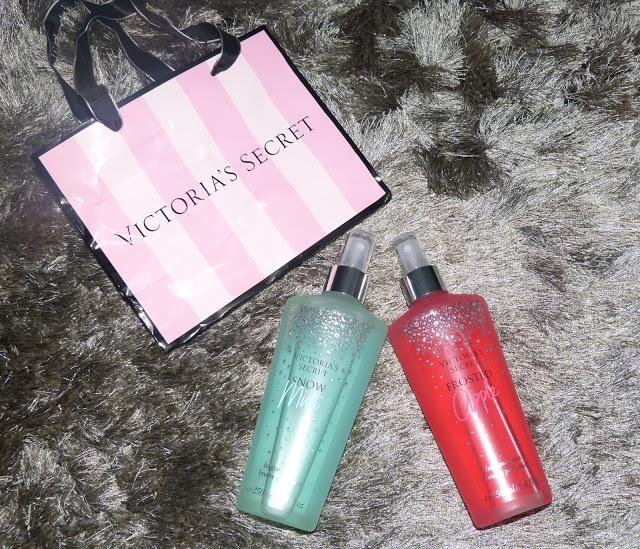 Victoria's Secret Fragrance Mist - Snow Mint e Frosted Apple