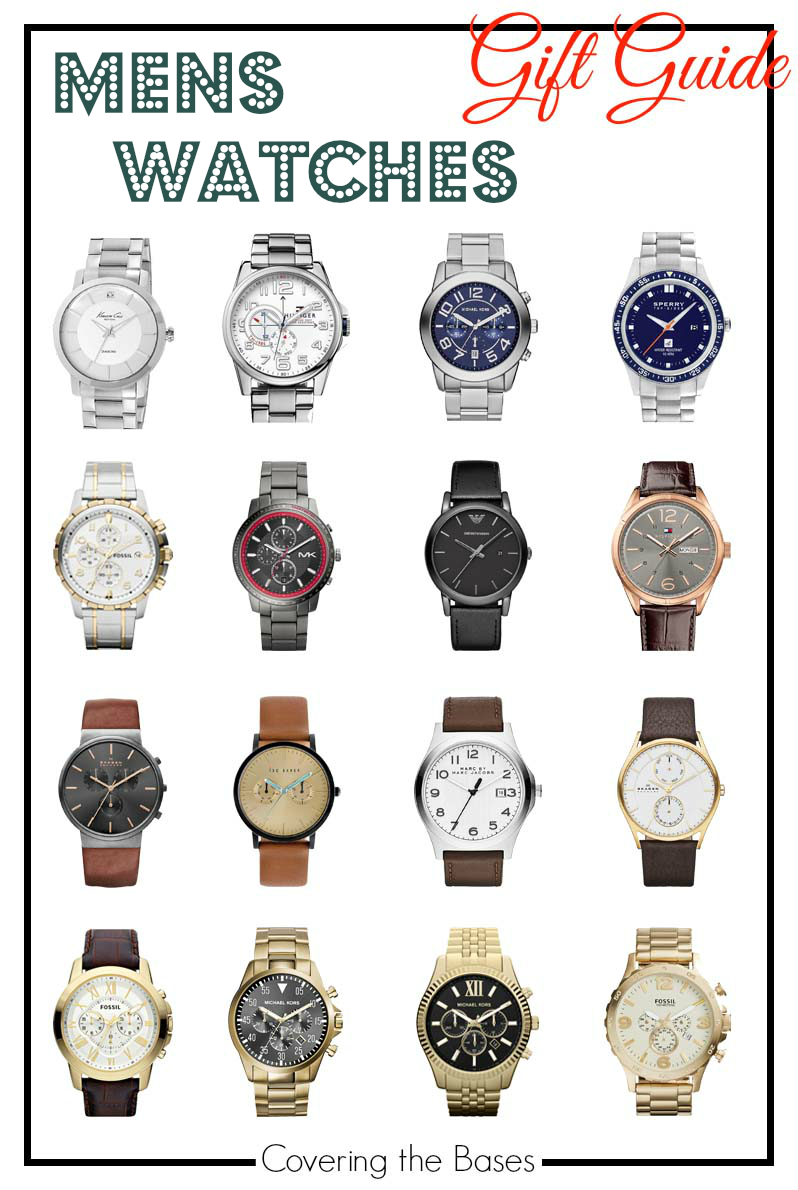 Gift Guide, Mens Watches