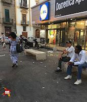 Gespräch mit einem Drogenhändler auf Sizilien