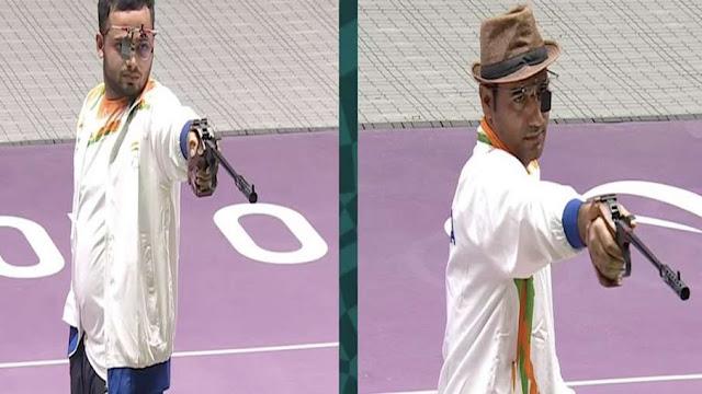 Tokyo Paralympics:  शूटर मनीष नरवाल ने भारत को दिलाया तीसरा गोल्ड, सिंहराज ने जीता सिल्वर