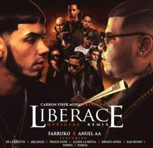 Farruko Ft Anuel AA, De La Ghetto, Arcangel, Ñengo Flow, Alexio, Bryant Myers, Bad Bunny, Noriel, Darell – Liberace (Official Remix)