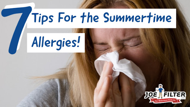 home allergy tips for summer