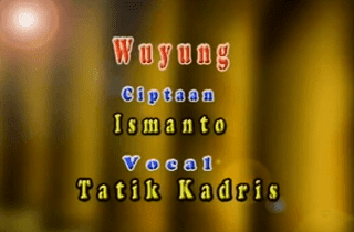 Lirik Lagu Wuyung