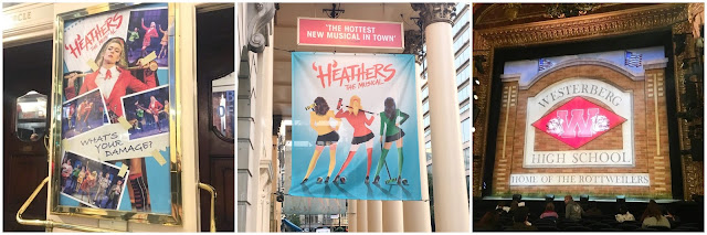 Heathers the musical collage