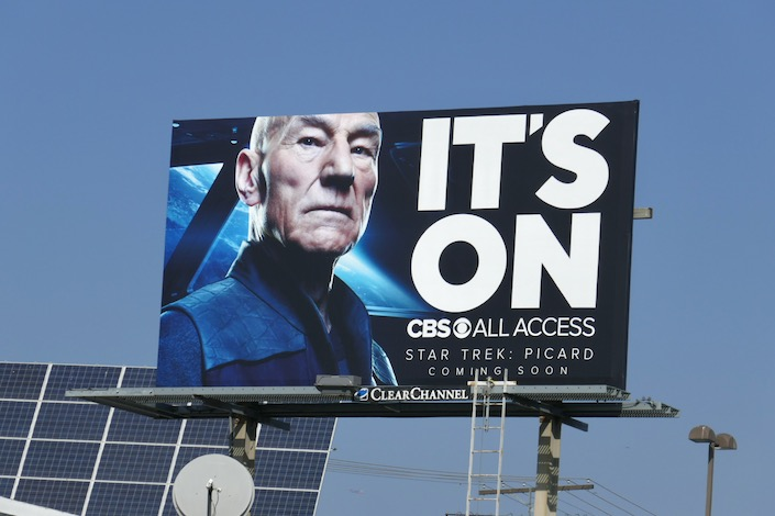 Star Trek Picard billboard