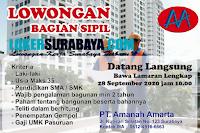 Lowongan Kerja di PT. Amanah Amarta Surabaya September 2020
