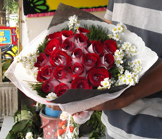 Hand Bouquet Mawar