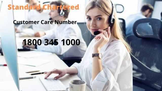 Standard Chartered Bank Customer Care Number