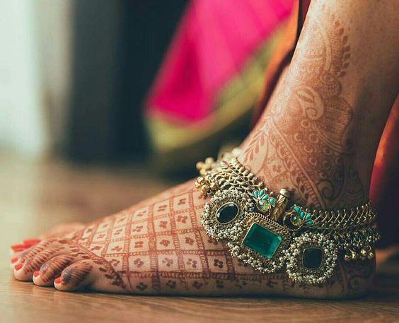 payal, jadaau jewelry, latest fashion trends, latest jewelry trends, anklets, beautiful jewelry, bridal jewelry