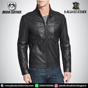 Jual Jaket Kulit Asli Garut Pria Domba Original Brida Leather B105 | WA 08813430588
