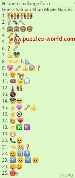 Guess Salman Khan Movie Names