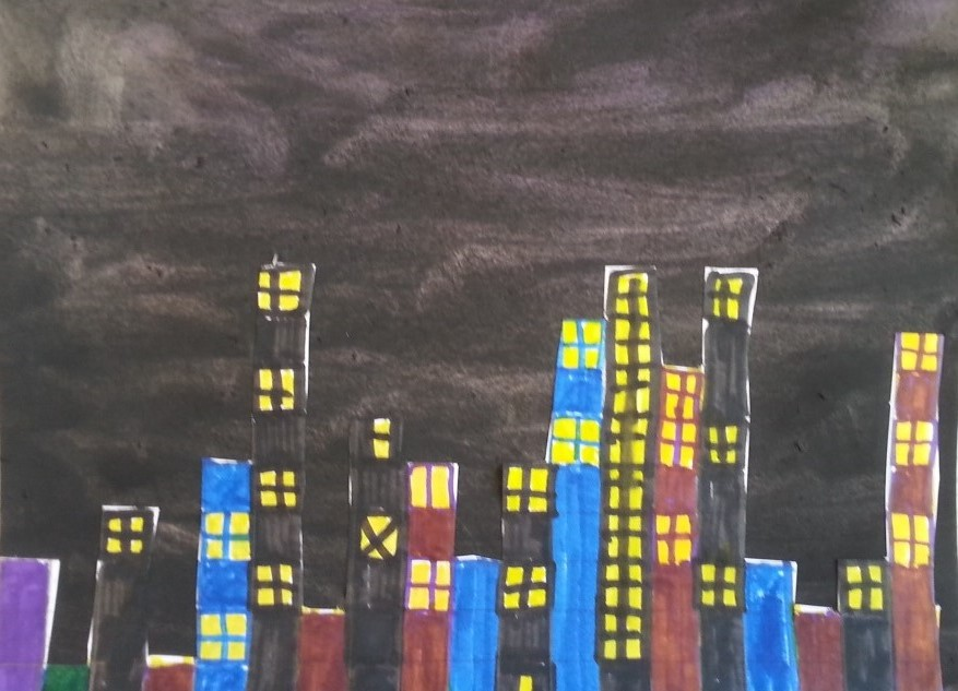 a faithful attempt  pi   u03c0  city skyline