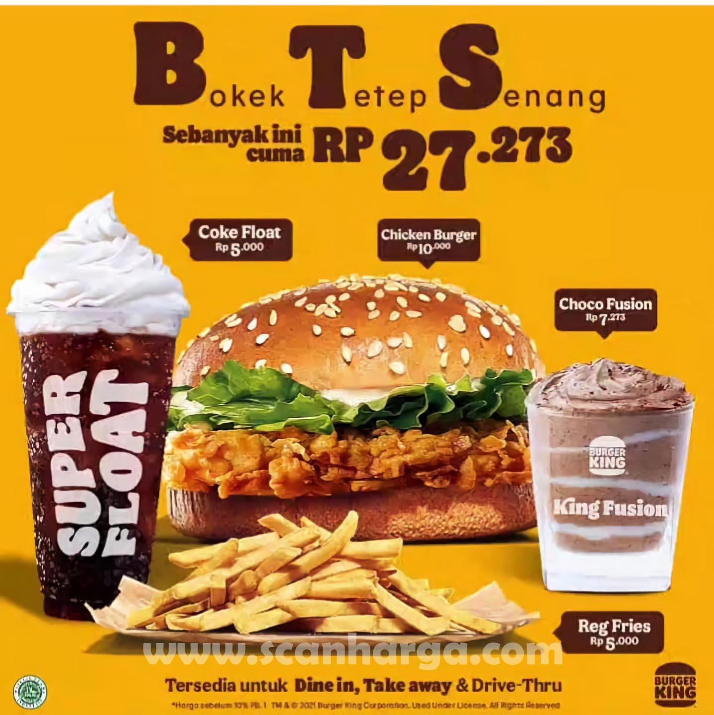 Promo BURGER KING BTS Paket BOKEK Tetap Senang 1