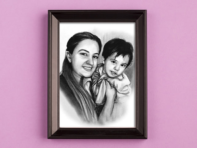 Karakalem Resim Çizimleri