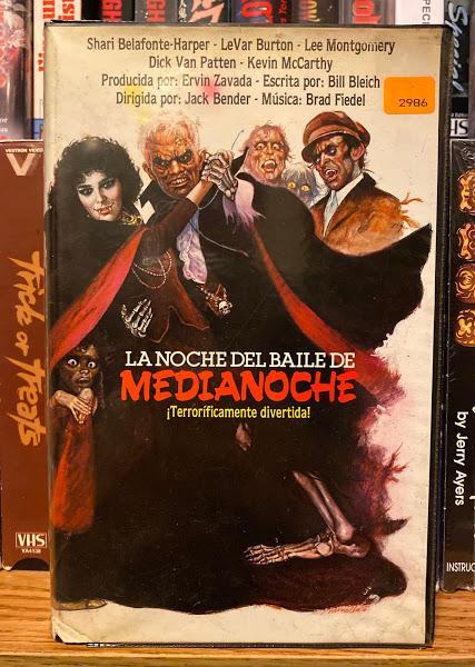 rare halloween VHS movies