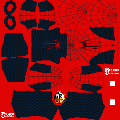 Kits người nhện Spider-Man - Dream League Soccer 2021
