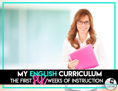 Secondary ELA curriculum ideas