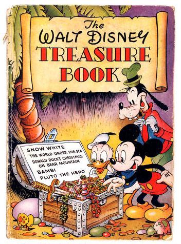 The Walt Disney Treasure Book, Odhams Press
