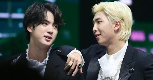 """BTS'den RM Ve Jin """"İnsan Mıknatısları"""" Olarak Biliniyor!"""