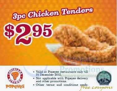 photograph relating to Popeyes Printable Coupons referred to as Discount coupons popeyes fowl - Coupon svapoweb 2018