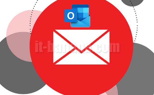 Cara menambah email baru di outlook