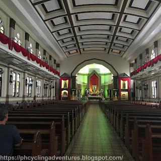 Santisimo Rosario Parish Entrance interior