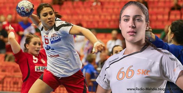 أسماء الغاوي مرشحة لجائزة أفضل لاعبة في أوروبا