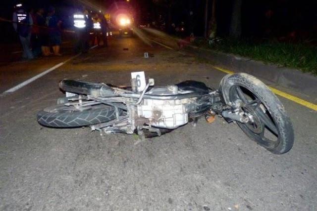 San Juan: Menor muere accidente al chocar motor con vehículo