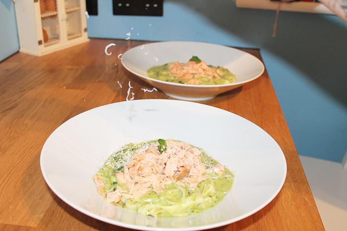 Asparagus & Pea Tagliatelle