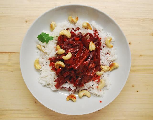 Curry de betterave