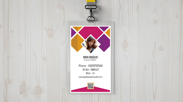 id-card-design How to Design a Corporate ID Card - Photoshop Tutorial download