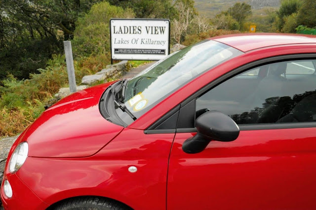 Our fiat for the Ring of Kerry Drive