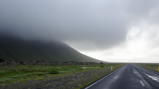 Thick clouds in Iceland