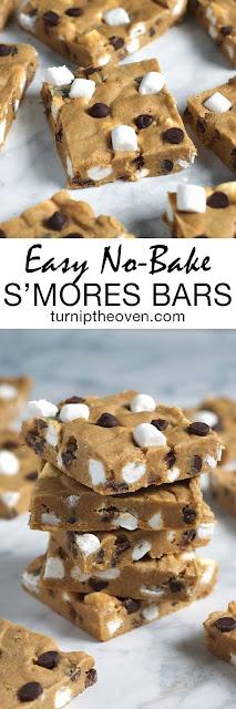 Easy No-Bake S'Mores Bars